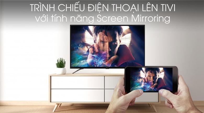 Screen Mirroring cho phép bạn chiếu tất cả màn hình điện thoại lên TV