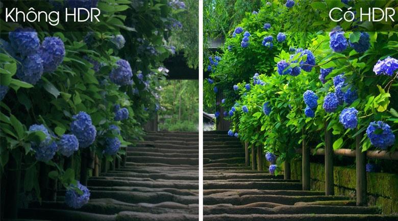 Tivi Casper 43FG5100 sở hữu với công nghệ HDR cho hình ảnh có chiều sâu hơn