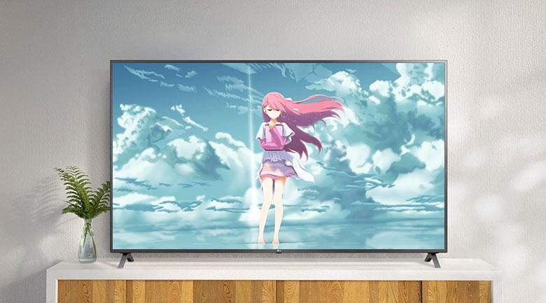 Tivi LG 43UN7290 PTF có lối thiết kế hiện đại mà tinh tế