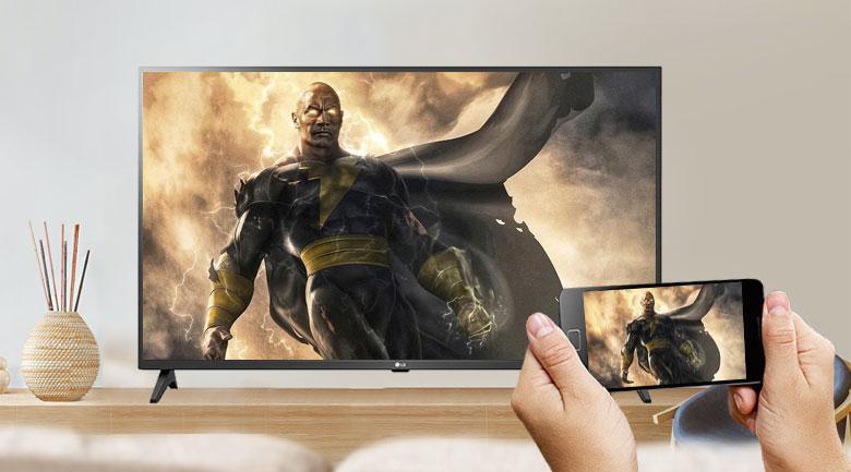Khả năng trình chiếu màn hình điện thoại lên tivi là dễ thực hiện