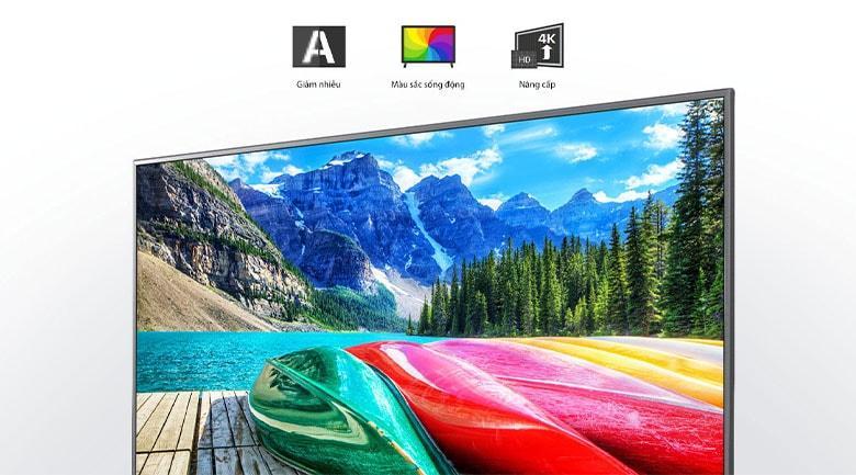Bộ xử lý Quad Core 4K giúp nâng cao chất lượng hình ảnh rất đáng kể