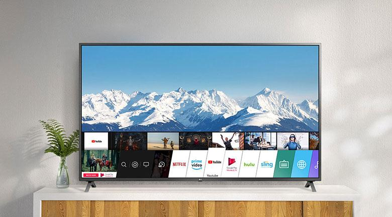 Tivi LG 43UN7290 PTF trang bị hệ điều hành WebOS Smart TV 5.0