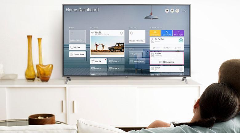 Magic Remote và AI ThinQ giúp bạn điều khiển tivi và các thiết bị khác bằng tiếng Việt