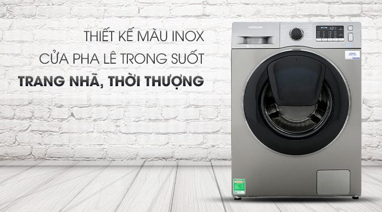 Máy giặt Samsung WW10K54E0UX/SV thiết kế màu trang nhã