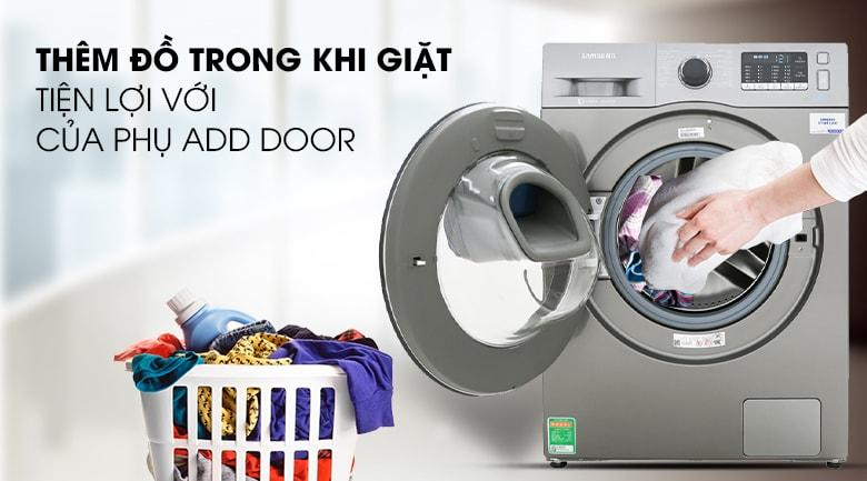thêm đồ trong khi giặt tiện lợi với cửa phụ ADD DOOR