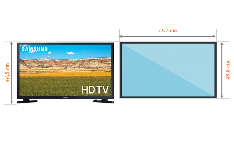 Tivi Samsung 32T4300 thông số chi tiết