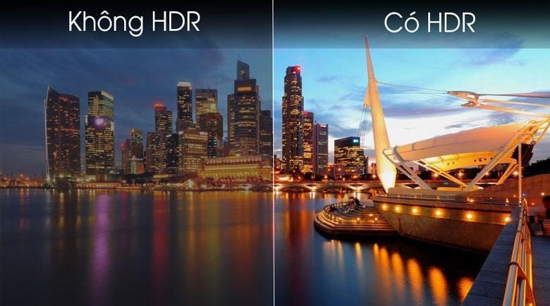 Tivi Samsung 32T4300 độ tương phản sắc nét với công nghệ HDR