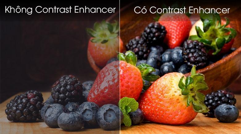 Tivi Samsung 32T4300 cho dải màu phong phú hơn với Contrast Enhencer