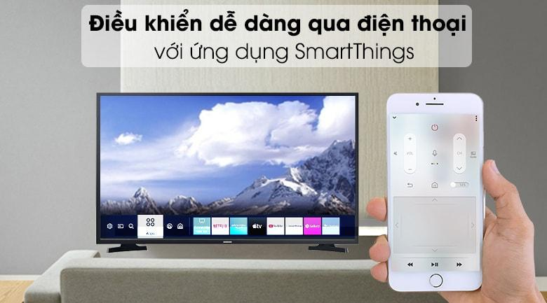 điều khiển điện thoại với ứng dụng SmartThings