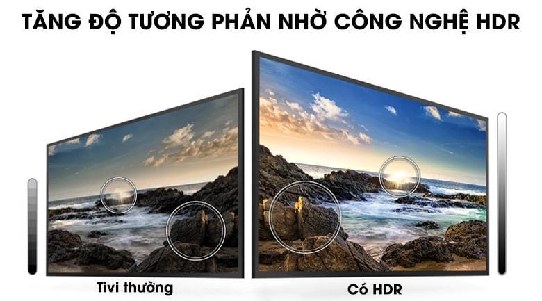 43T6000 tăng độ tưởng phản nhờ công nghệ HDR