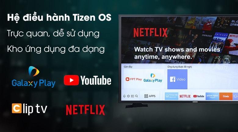 hệ điều hành Tizen OS trực quan, dễ sử dụng với kho ứng dụng phong phú