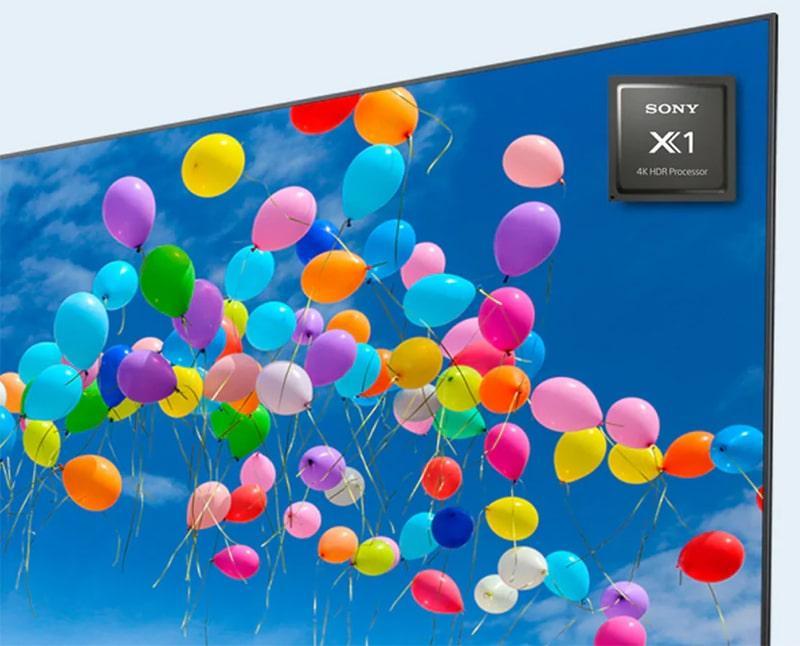 43X8050H cho hình ảnh đẹp hơn với chíp xử lý X1
