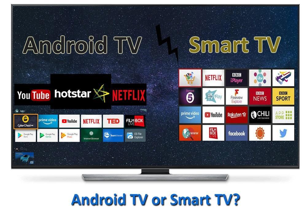 nên chọn mua smart tivi hay android tivi