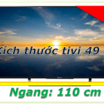 kích thước của tivi samsung 49 inch