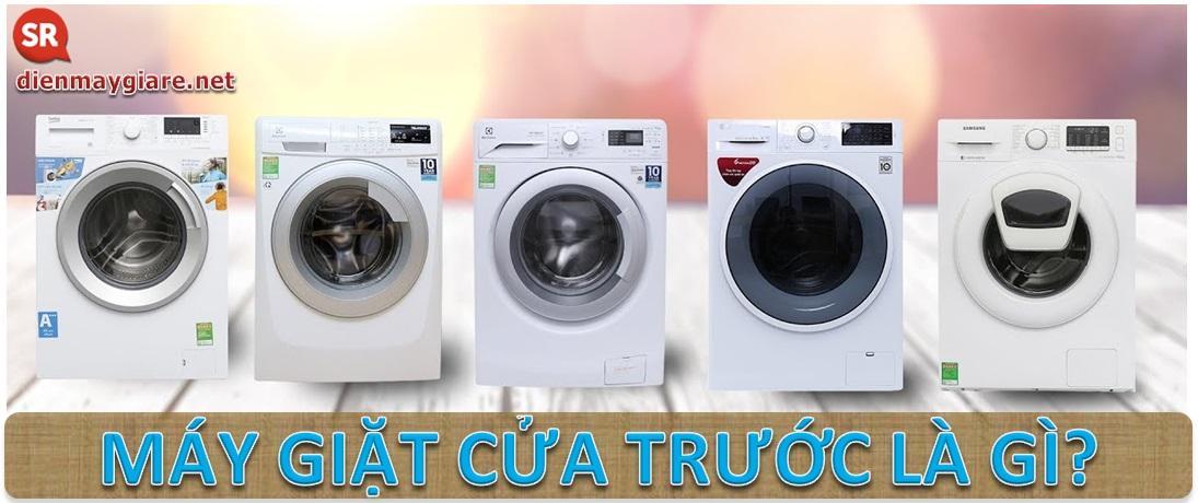 Bạn đã biết gì về máy giặt cửa trước