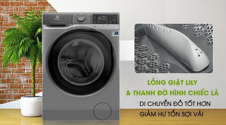 Trang bị lồng giặt Lily nên sẽ giặt sạch quần áo hơn, bảo vệ vải tốt hơn