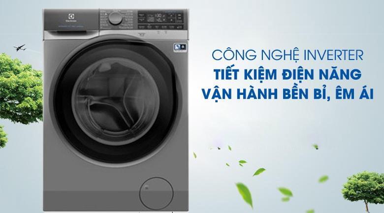 Máy giặt Electrolux EWF1141SESA được trang bị công nghệ Inverter