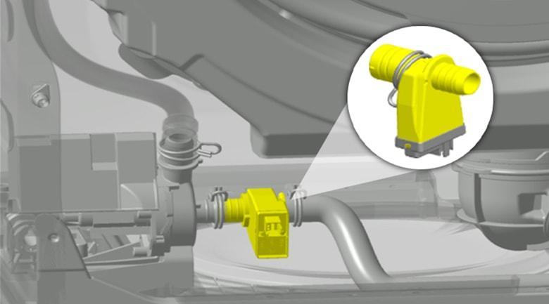 Cảm biến Sensor Wash sẽ giúp tăng cường hiệu quả giặt sạch sâu hơn