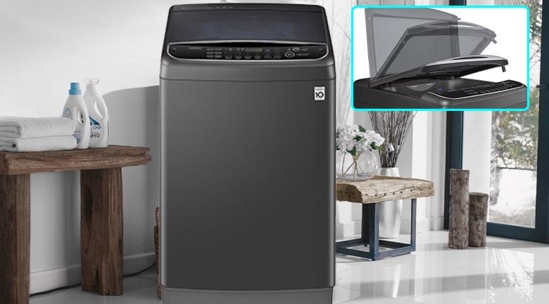 Máy giặt LG TH2111DSAB là một mẫu có thiết kế sang trọng, lịch sự nhất