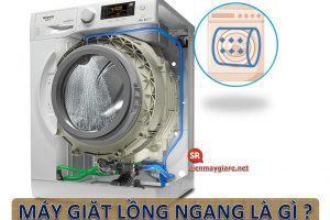 Máy giặt lồng ngang là gì?