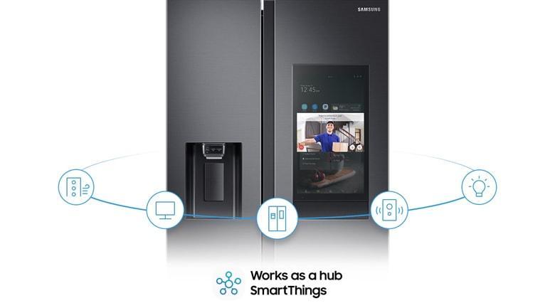 Điều khiển các thiết bị thông minh trong nhà ngay với tủ lạnh