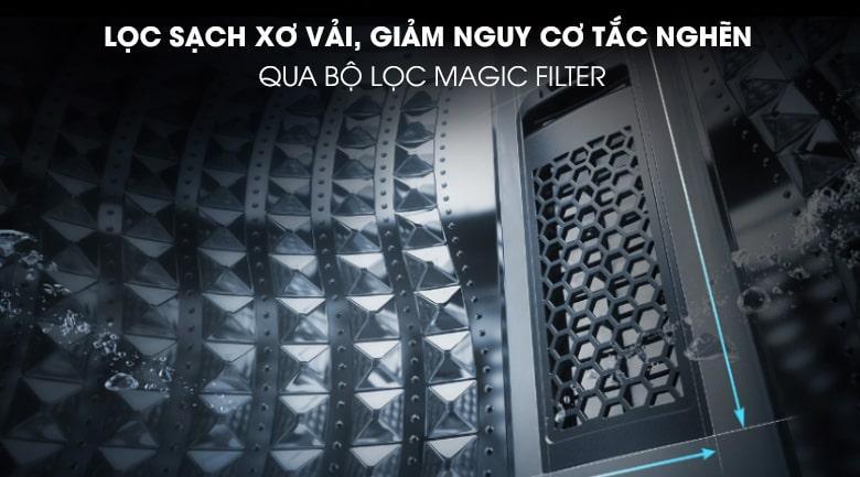 Bộ lọc Magic Filter giảm nguy cơ tắc nghẽn hoàn toàn