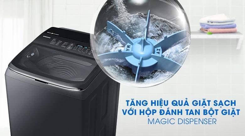Hộp đánh tan bột giặt Magic Dispenser hiệu quả không còn cặn bột giặt