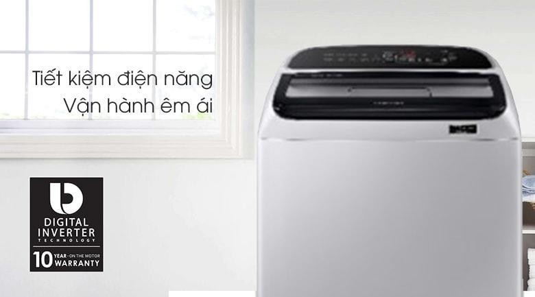 Máy giặt Samsung WA90T5260BY/SV có công nghệ Digital Inverter tiết kiệm điện