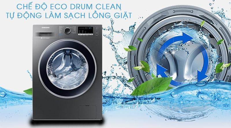 Máy giặt Samsung WW85J42G0BX/SV tự vệ sinh lồng giặt nâng cao tuổi thọ