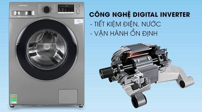 Công nghệ Digital Inverter giúp máy giặt chống ồn và tiết kiệm điện năng