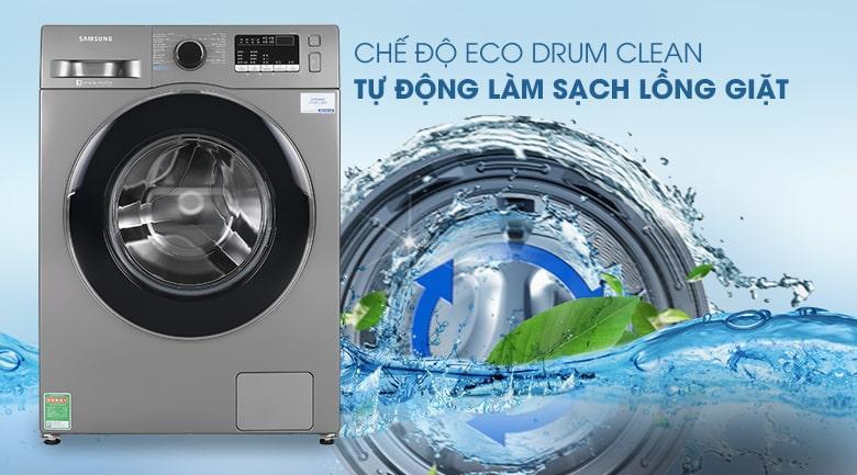 Chế độ Eco Drum Clean tự vệ sinh lồng giặt tuyệt vời