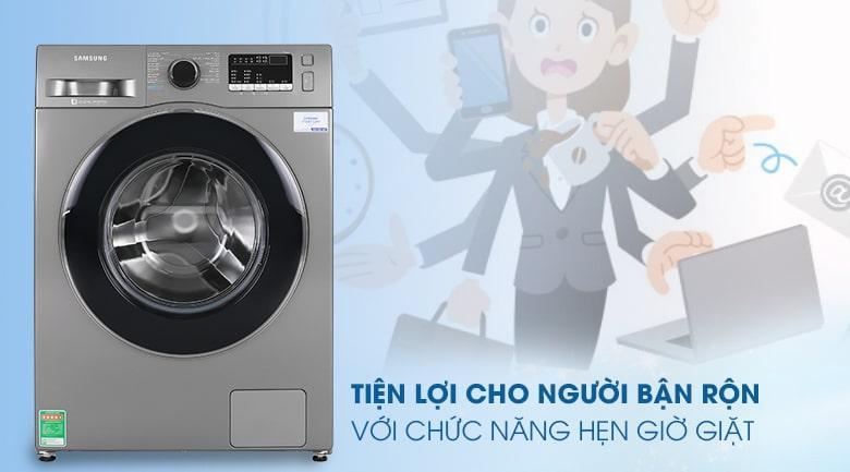 Máy giặt Samsung WW95J42G0BX/SV có chế độ hẹn giờ tiện lợi