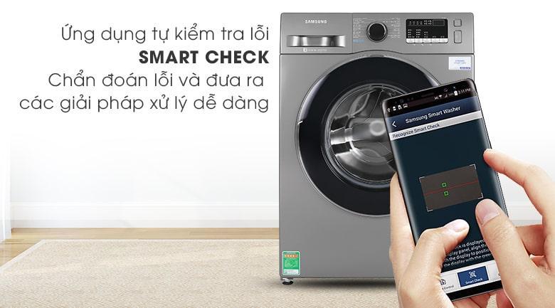 Máy giặt Samsung WW95J42G0BX/SV cho phép chuẩn đoán sự cố bằng điện thoại