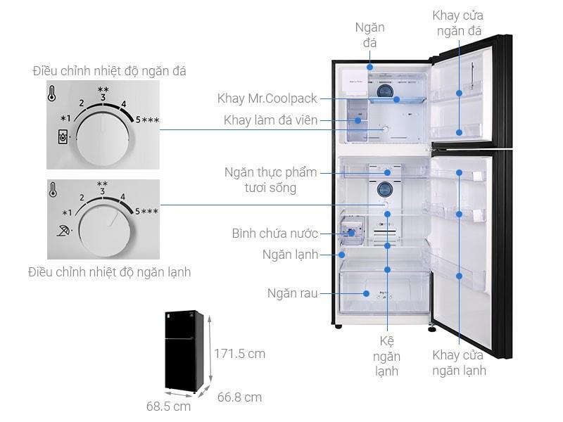 Tổng quan Tủ lạnh Samsung RT35K50822C/SV