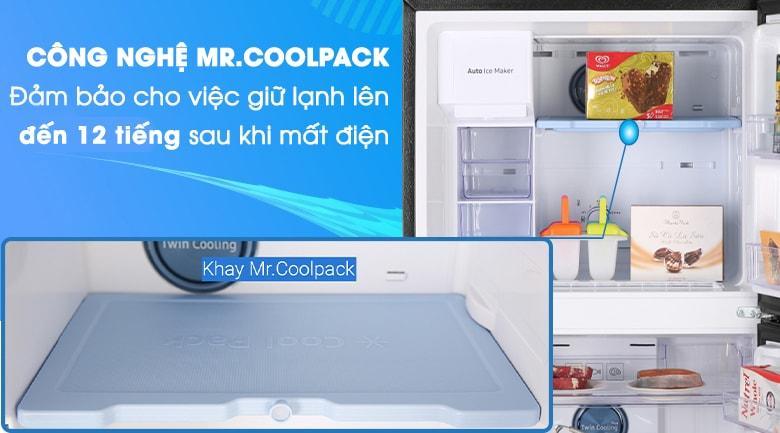 Ngăn Cool Pack duy trì độ lạnh tốt ngay cả khi mất điện