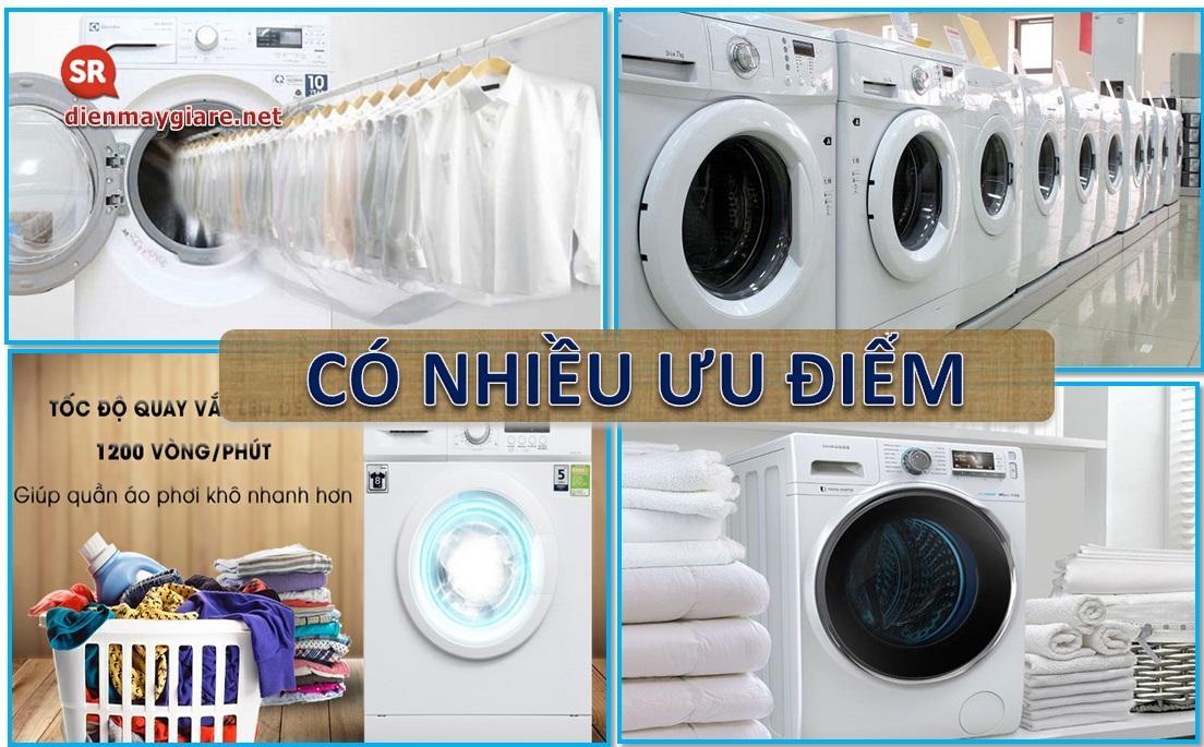 Ưu điểm và nhược điểm của dòng máy giặt lồng ngang là gì?