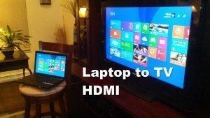 Xuất hdmi từ laptop ra tivi