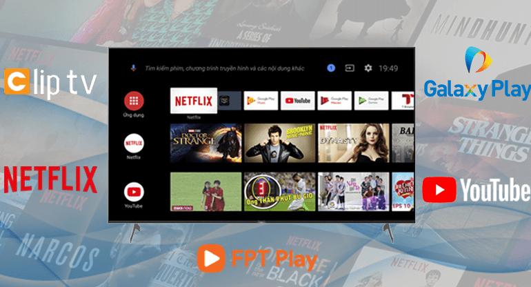 Giao diện quen thuộc cùng kho ứng dụng đa dạng với hệ điều hành Android 9.0