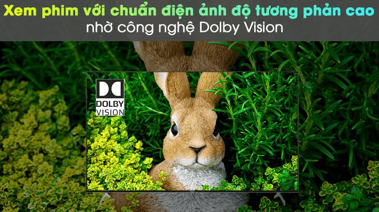 Hình ảnh hiển thị với màu sắc thực và được tăng cường độ tương phản nhờ có công nghệ Dolby Vision