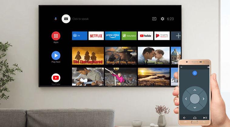 Tích hợp điện thoại điều khiển tivi vô cùng dễ dàng với ứng dụng Android TV Remote Control