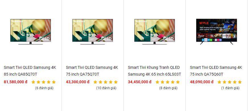 Nên cài đặt Tivi OLED giỏi QLED?