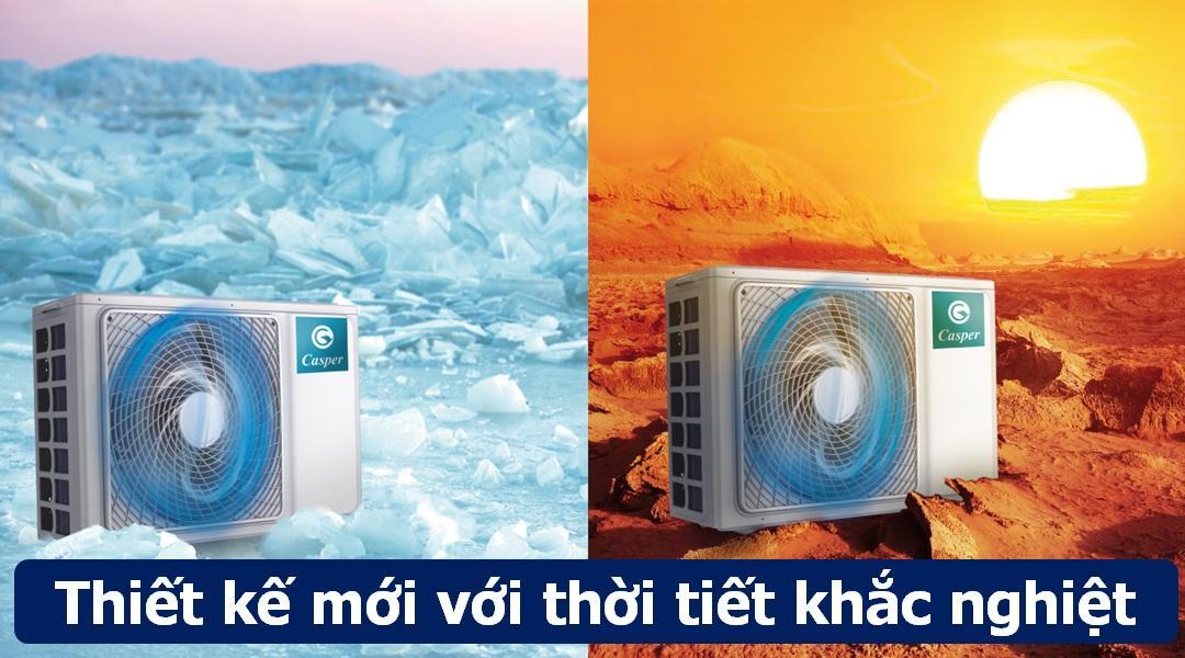 Dàn nóng có thiết kế hoàn toàn mới - khác biệt