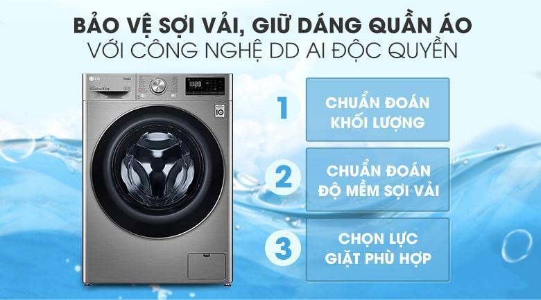 Tủ lạnh Toshiba Inverter 511 lít GR-RF610WE-PMV(37) bảo vệ sợi vải, giữ dáng quần áo với công nghệ DD Al độc quyền