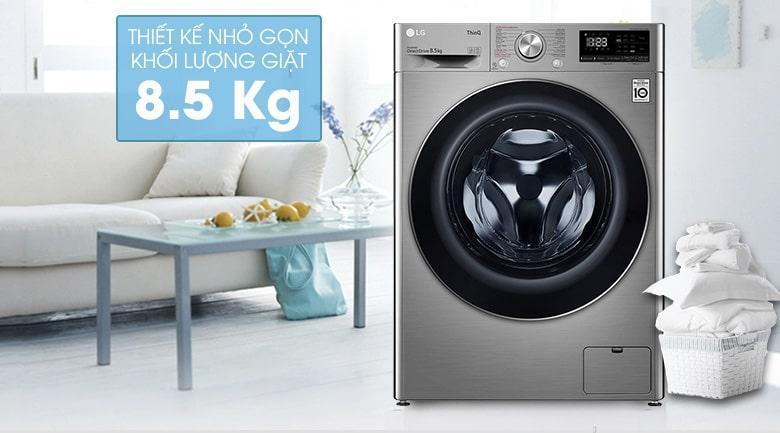 máy giặt 8.5 kg phú hợp cho gia đình có từ 4-5 thành viên