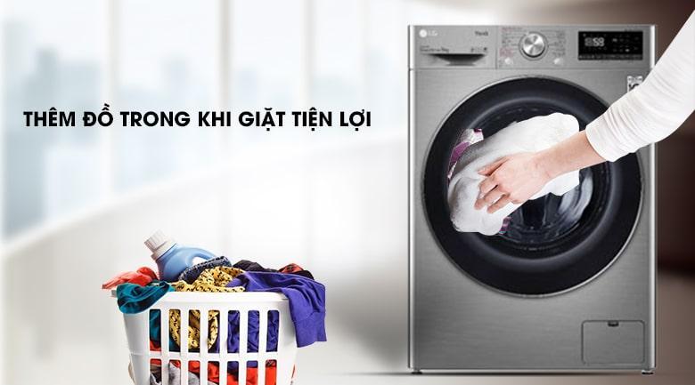 thêm đồ trong khi giặt tiện lợi