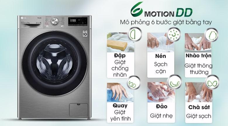 FV1409S2V công nghệ giặt mô phỏng như 6 bước giặt bằng tay