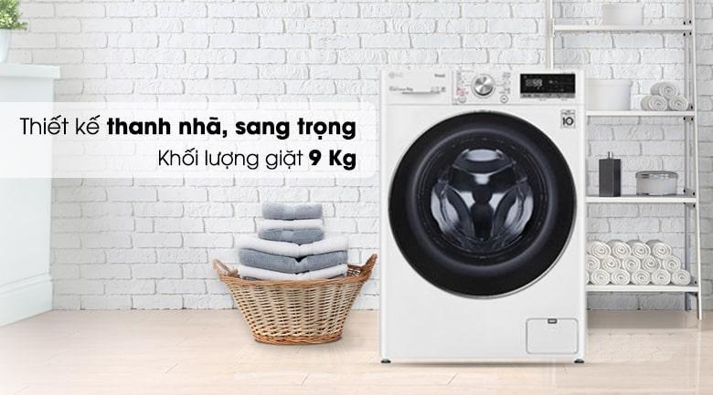 FV1409S2W thiết kế thánh nhã, sang trọng khối lượng giặt 9kg