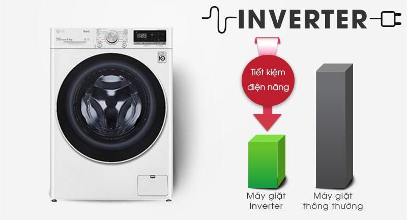tiết kiệm điện nước hiệu quả với công nghệ inverter