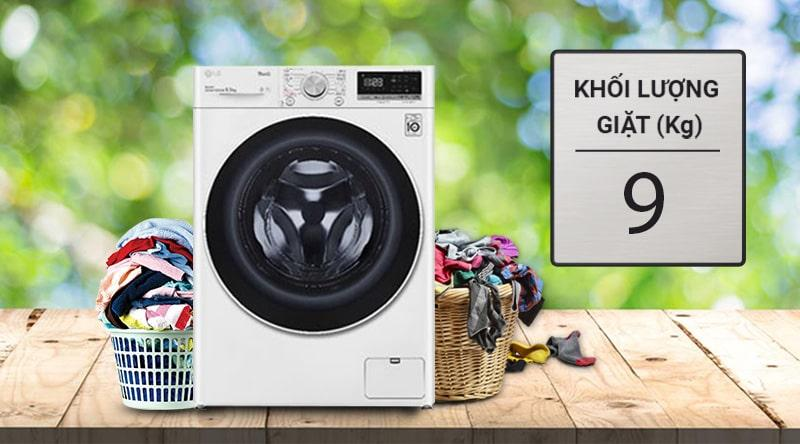 FV1409S4W có khối lượng giặt lên đến 9kg