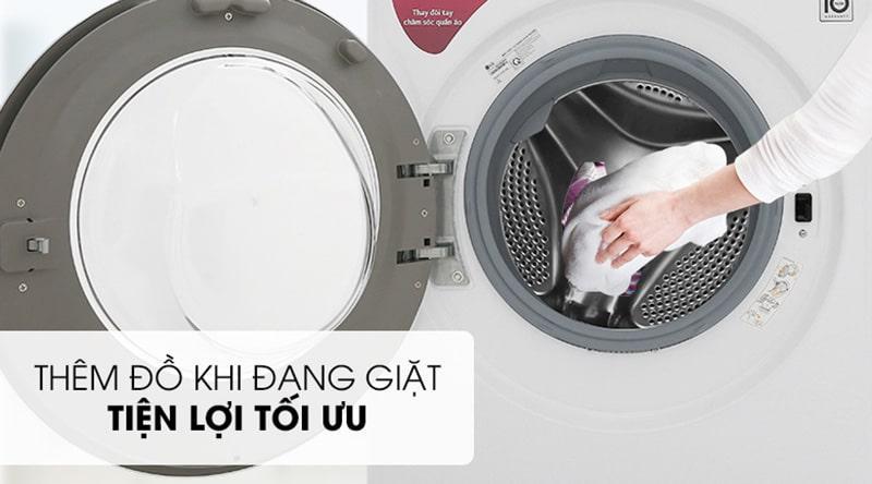 tiện lợi với thêm đồ khi đang giặt tối ưu